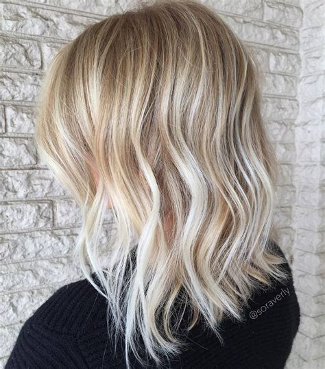 blonde hair is usually thinner 70 devastatingly cool haircuts for thin hair mid length
