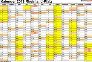 Kalender 2018 Zum Ausdrucken Mit Ferien Rlp Ferien Rheinland Pfalz 2016 220 Bersicht Der Ferientermine
