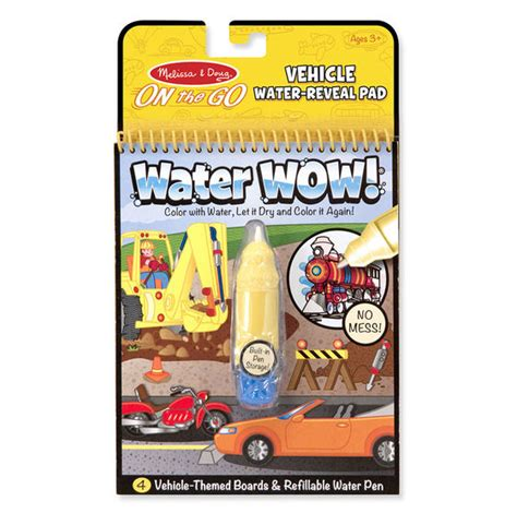 water wow vehicles on the go travel activity doug