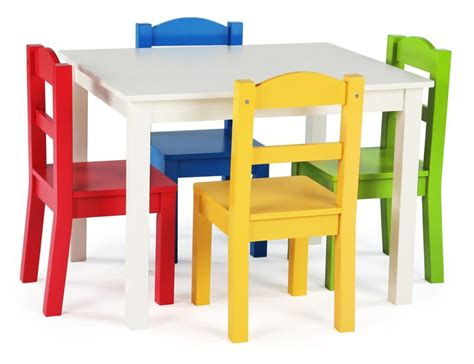 Child Table And Chairs by Tot Tutors Samira Rectangular Table And Chair