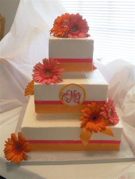 hochzeitstorte 4 eckig square white orange wedding cakesang maestro sang maestro