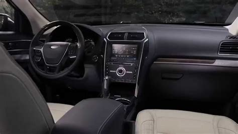 image gallery new ford explorer interior