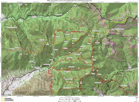cumberland trail map frozen topos and gps waypoints cumberland trails