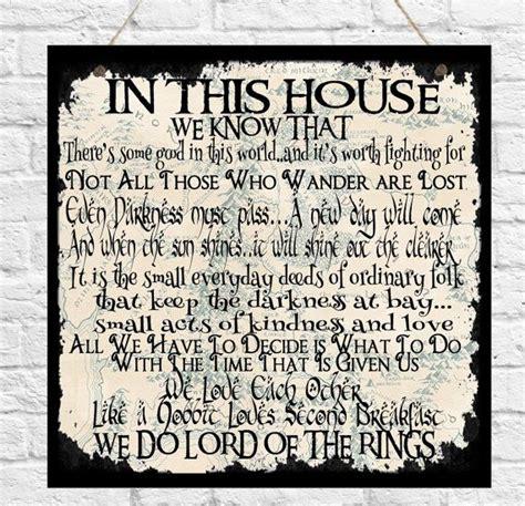 zitate haus die besten 17 ideen zu hobbit zitate auf