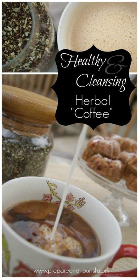 Detox With Black Coffee by Cleansing And Healthy Herbal Coffee Recipe Beverages