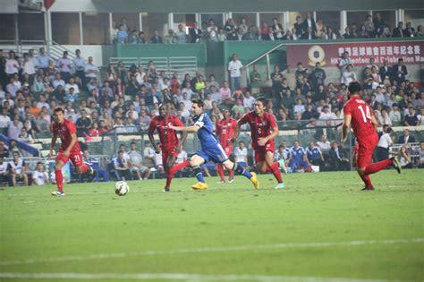 hong kong new year soccer hong kong debut 2014 15 nike match range against argentina