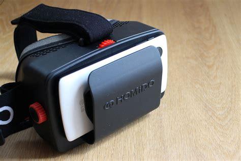 Homido Vr نظارة homido للواقع الافتراضي بتقنية تنافس نظارة cardboard التقنية بلا حدود