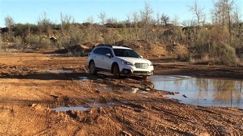offroad subaru outback 2015 subaru outback off road texas youtube