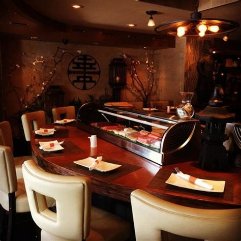 sushi bar at the copper wok stunning decor date