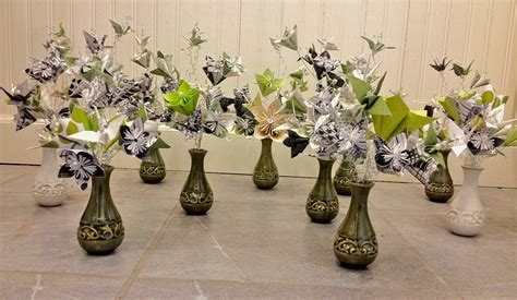 Diy Wedding Vases Mini Centerpieces Cocktail Hour Tables Weddingbee Photo