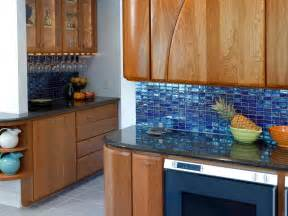 blue glass kitchen backsplash picking a kitchen backsplash hgtv