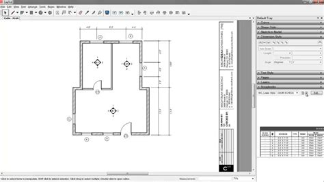 Floor Plan Layout Tool by 06 Sketchup Layout Construction Documents