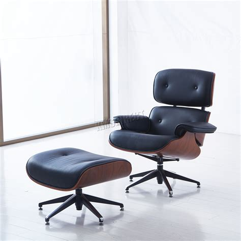 genuine leather chair and ottoman foxhunter luxury lounge chair and ottoman real genuine