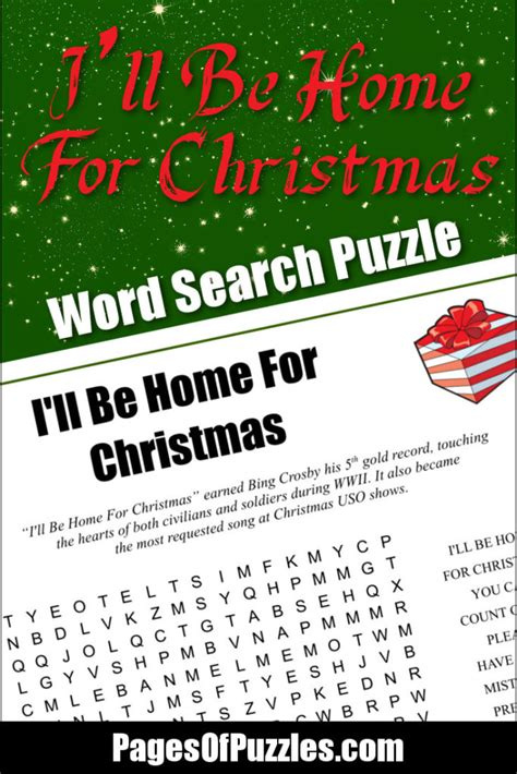 ill be home for i ll be home for word search pages of puzzles