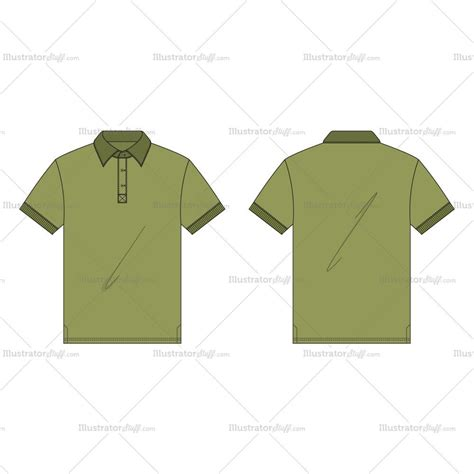 pattern making of polo shirt men s regular fit classic oxford shirt fashion flat