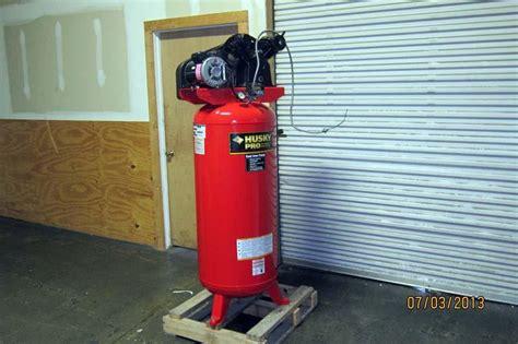 lot 50 2007 husky pro air compressor wirebids