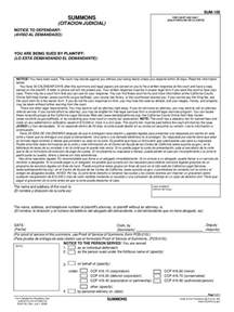 california court summons 8 free templates in pdf word