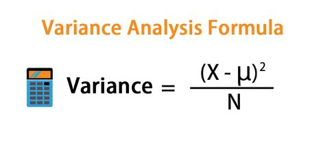 variance analysis formula calculation examples