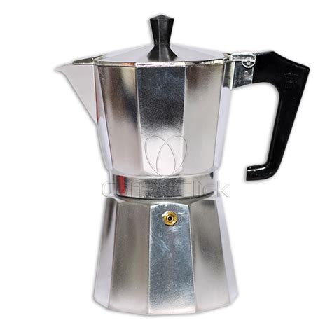 Moka Pot Alumunium 6 Cup Promo pezzetti italexpress aluminium moka pot 6 cup stove