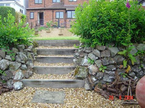 How To Build Garden Steps With Railway Sleepers by View Topic Garden Steps With Sleepers Home Renovation