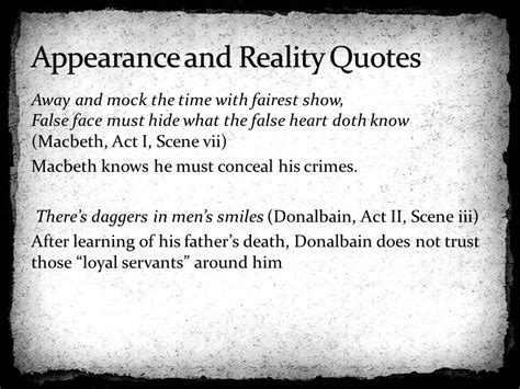 hamlet themes appearance vs reality quotes shakespeare s views and values and themes ppt download