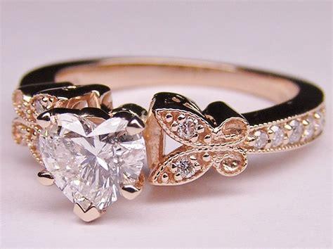 wedding rings shaped like a heart best 25 heart shaped wedding bands ideas on pinterest