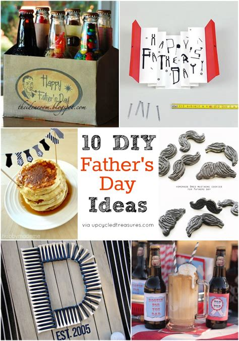 10 diy fathers day gifts for dad buzzfeed 10 last minute diy father s day ideas upcycled treasures