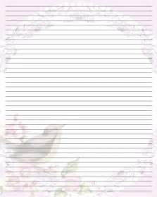 Printable Letter Writing Paper Best Photos Of Printable Writing Note Paper Free