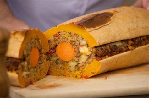 foodista veggieducken is a vegetarian take on turkey