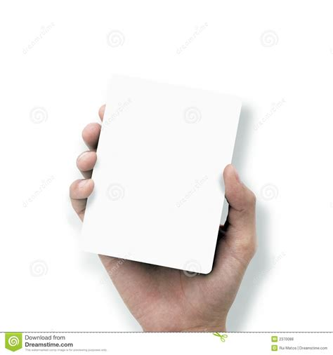 How To Make Paper Holding - holding white paper stock photo image of come
