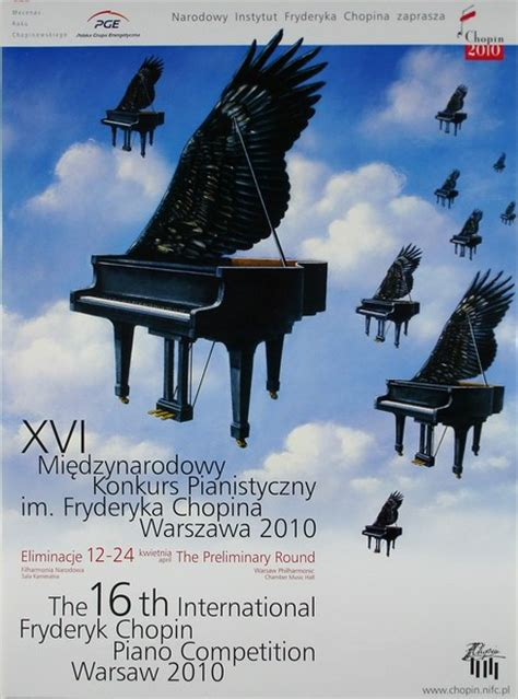 poster international fryderyk chopin piano
