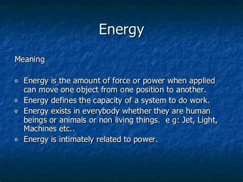 What Is The Definition Of Light Energy by Renewable Non Renewable Energy Resources