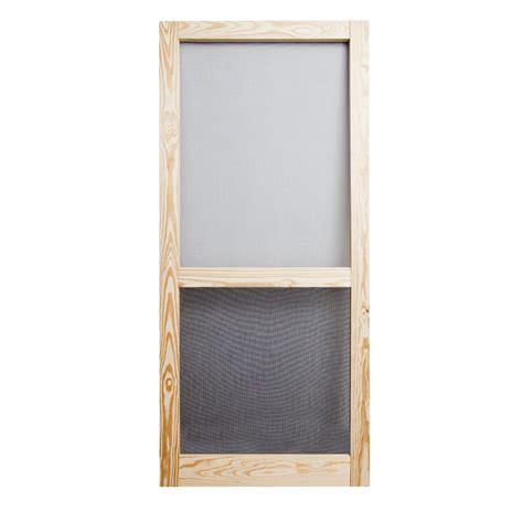 screen doors shop screen tight liberty wood hinged single bar