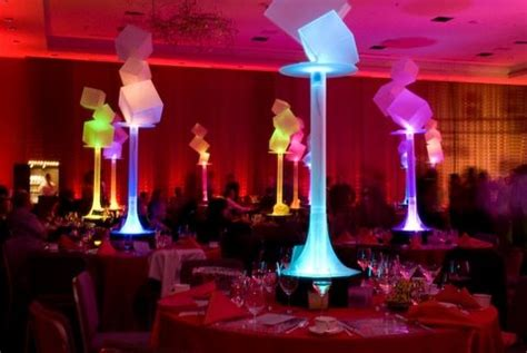 glow in the centerpieces ideas 5 ideas for led light centerpieces wedding bar bat mitzvah sweet 16 mazelmoments