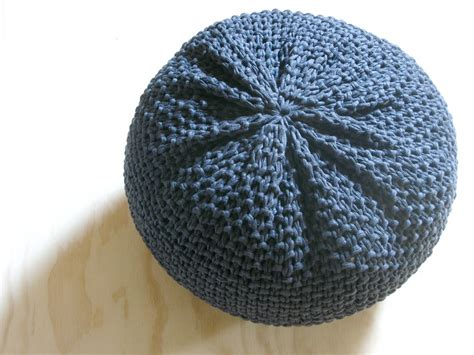 pouf ottoman etsy 25 best ideas about knitted pouf on pinterest knitted
