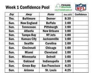 Ncaa Football Office Pool Picks Nfl Confidence Pool Week 1 1024x811 Jpg