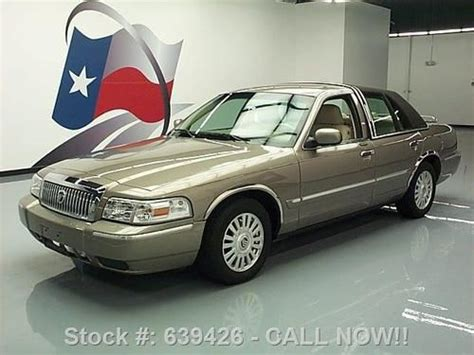 how to work on cars 2006 mercury grand marquis security system find used 2006 mercury grand marquis ls montigua htd leather 35k texas direct auto in stafford
