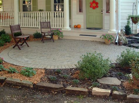 Front Patio Design by Front Porch