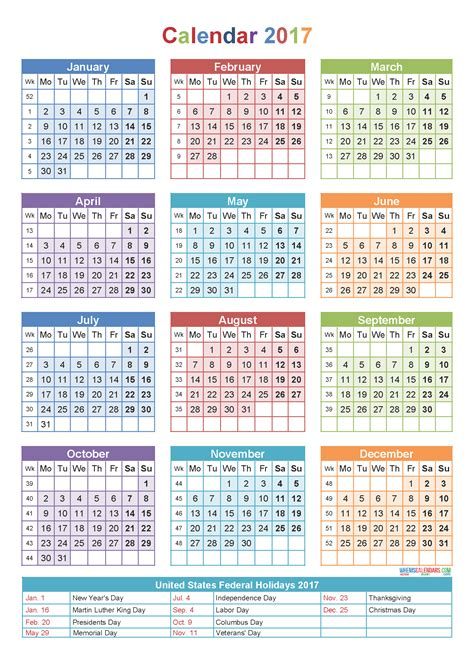 yearly calendar   holidays printable template yearly calendar template calendar