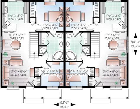 multi unit house plans home design 3050