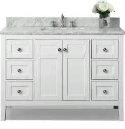 Bathroom Vanity Cabinets White Shop Houzz Ancerre Designs Maili Bath Vanity Bathroom Vanities And Sink Consoles