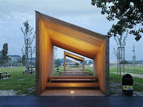 Pavillon Modern by 9 Pavilions Localarchitecture Paysagestion Yverdon Les