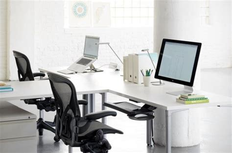 Task Desks That Will Help You Work In Your Home Office T Shaped Desk For Two