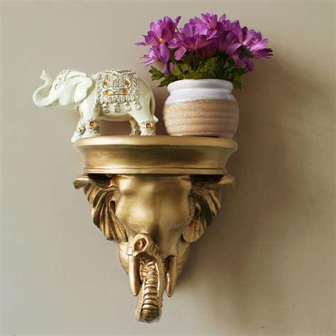 Resin Wall Shelf by Decorative Wall Mounts Fashion Resin Elephant Wall Mount