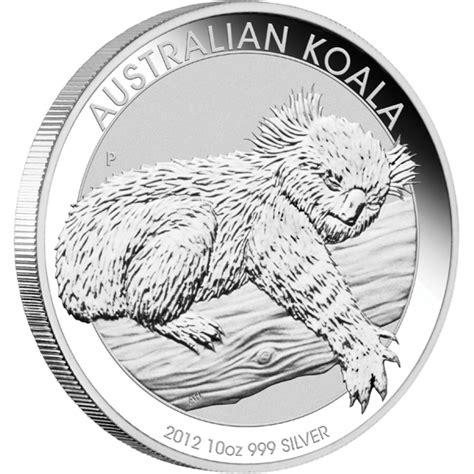 1 Oz Silver Koala Coin - silver bullion coin australian koala 2012 10 oz