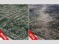 Washington, Illinois tornado: Aerial photos show ... Ef5 Tornado Damage Before And After