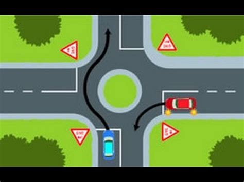 printable road code test nz road code intersection questions 1 23 youtube