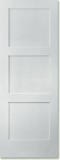 Three Panel Door Interior Shaker 3 Panel Equal Interior Doors Trimlite Shaker Doors Doors Manufacturer Trimlite Doors El