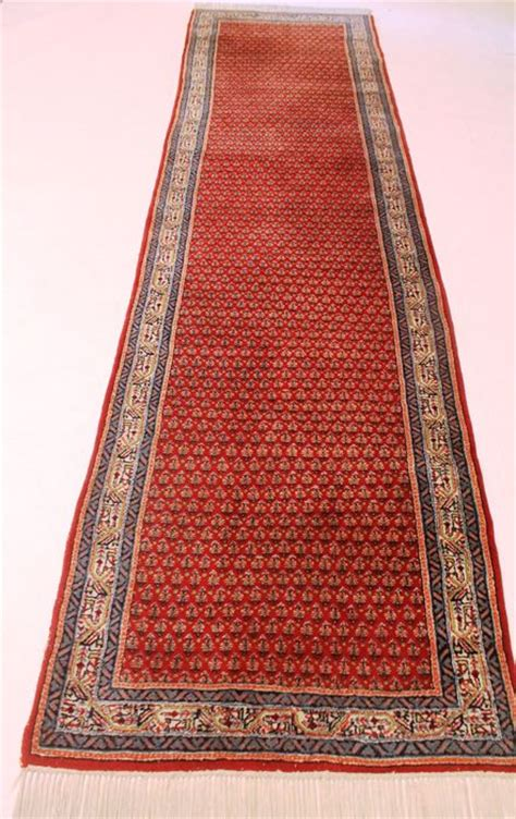 rugs made in india rug sarough mir carpet 90 x 340cm made in india middle of the 20th century