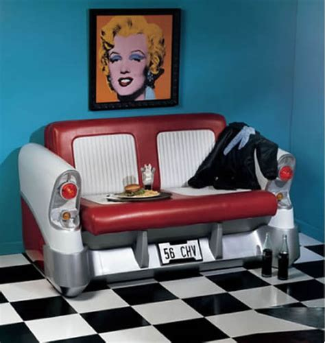 car seat couch retro sofa is inspired by car seats of yesteryears elite